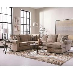 Chaise In Living Room Best Drapes For Big Cream Chenille Herringbone Sofa Sectional Furniture Set