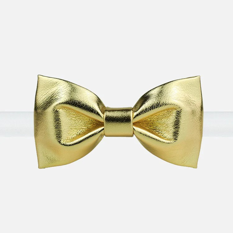 Gold Bowtie  Bow Ties for Men  Bow SelecTie