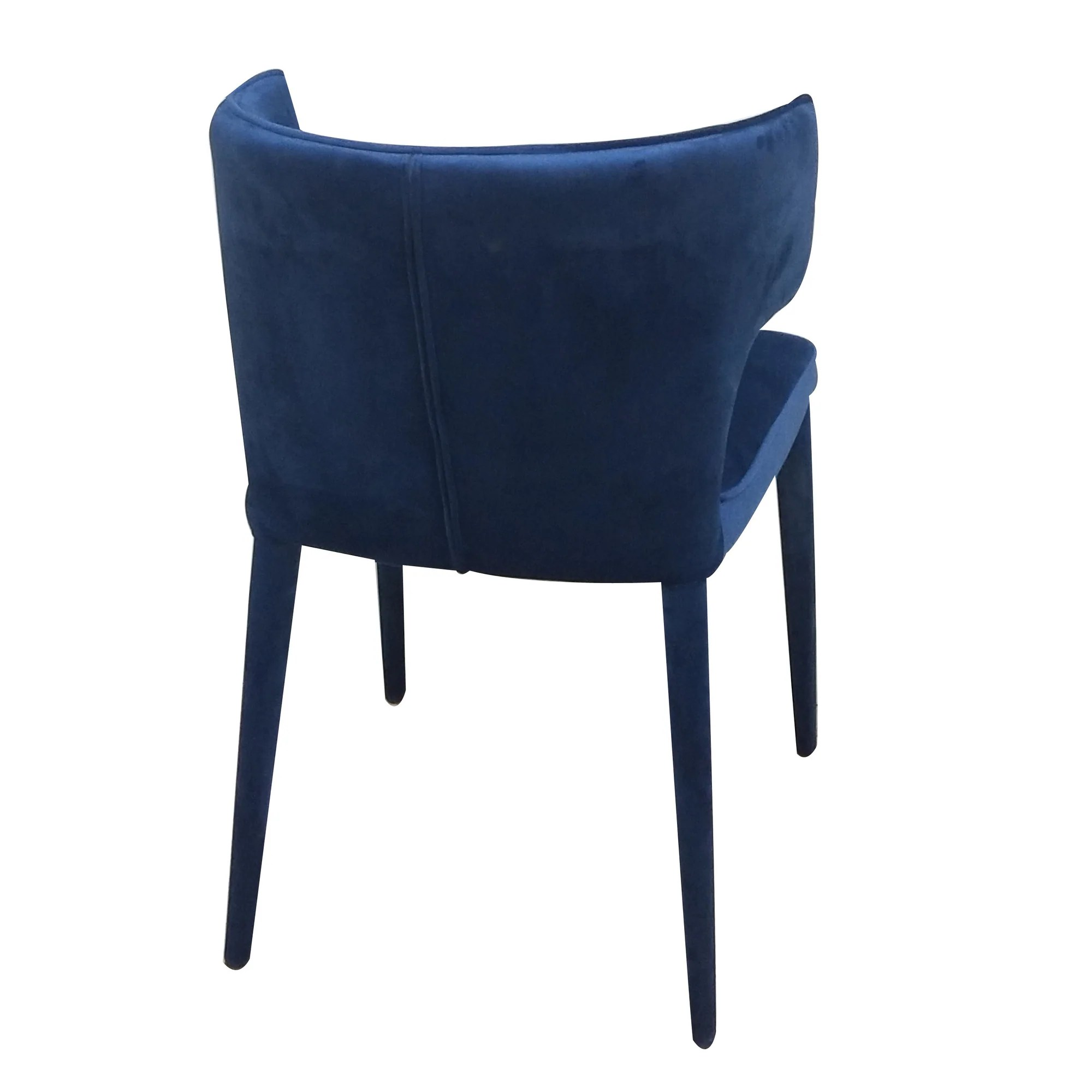 small resolution of  portofino dining chair navy velvet