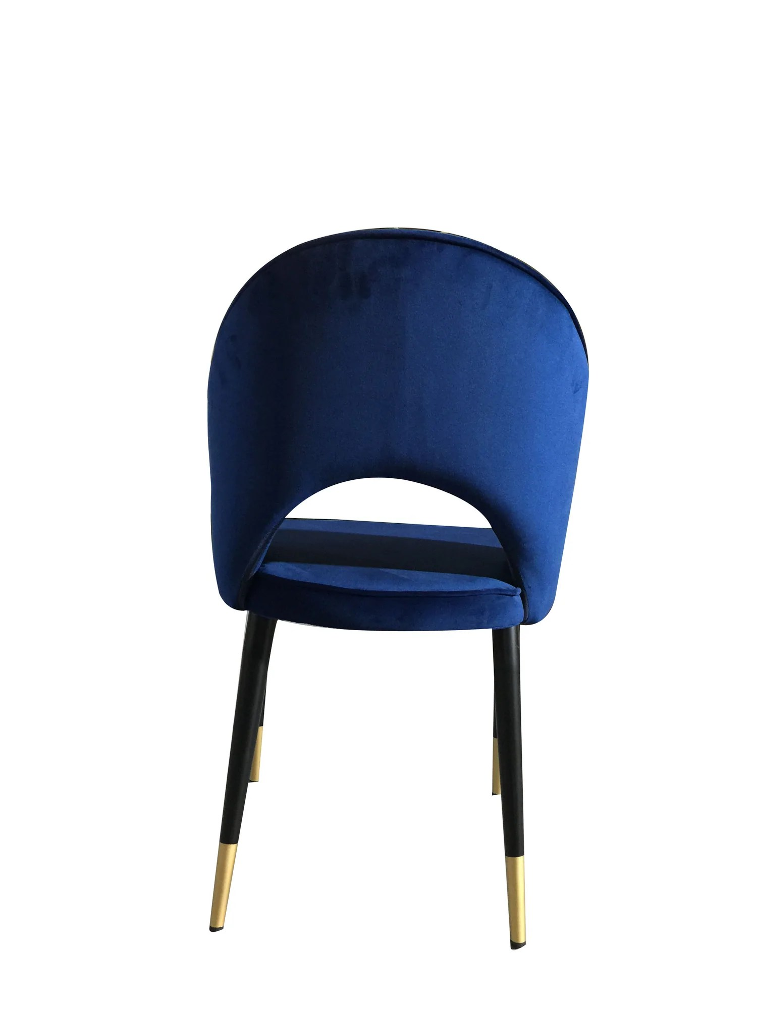 hight resolution of  bourdain dining chair navy velvet