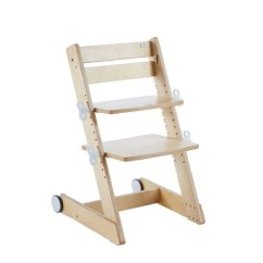 Adult Baby High Chair Toddler White Rocking Adjustable To Laminated Wood By Cahir Q Momo Ergo Kid2youth