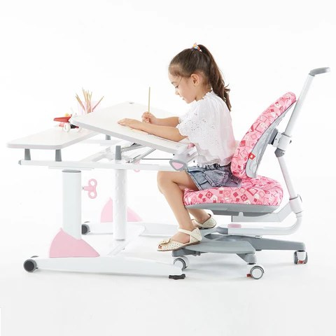 ergonomic chair singapore leather images study combination set, kid's desk with child's package