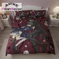Black Butler Kuroshitsuji Bedding Set, Blanket, Sheets ...