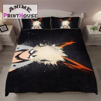 My Hero Academia Bed Set, Blanket & Pillows  Anime Print ...