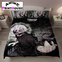 Tokyo Ghoul Bed Set, Blanket, Sheets | Over 70 Designs ...