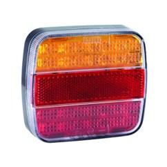 Led Trailer Lights Wiring Diagram Australia Bmw For Vans Trucks Trailers Truck Electrics Rear Lamp Stop Tail Indicator Number Plate Light