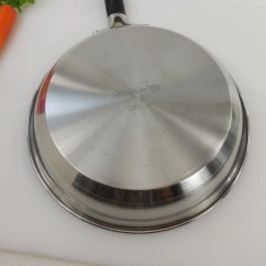 Calphalon Kitchen Essentials Stainless Steel Drop Leaf Table Plans 10 Quot Fry Pan Skillet 1390