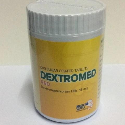 Dextromethorphan Hbr 15mg 1000 tablets Dextromed Red ...
