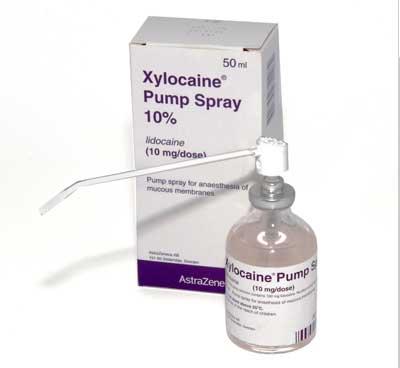 Lidocaine 10% Xylocaine Spray – Thai Pharmacy
