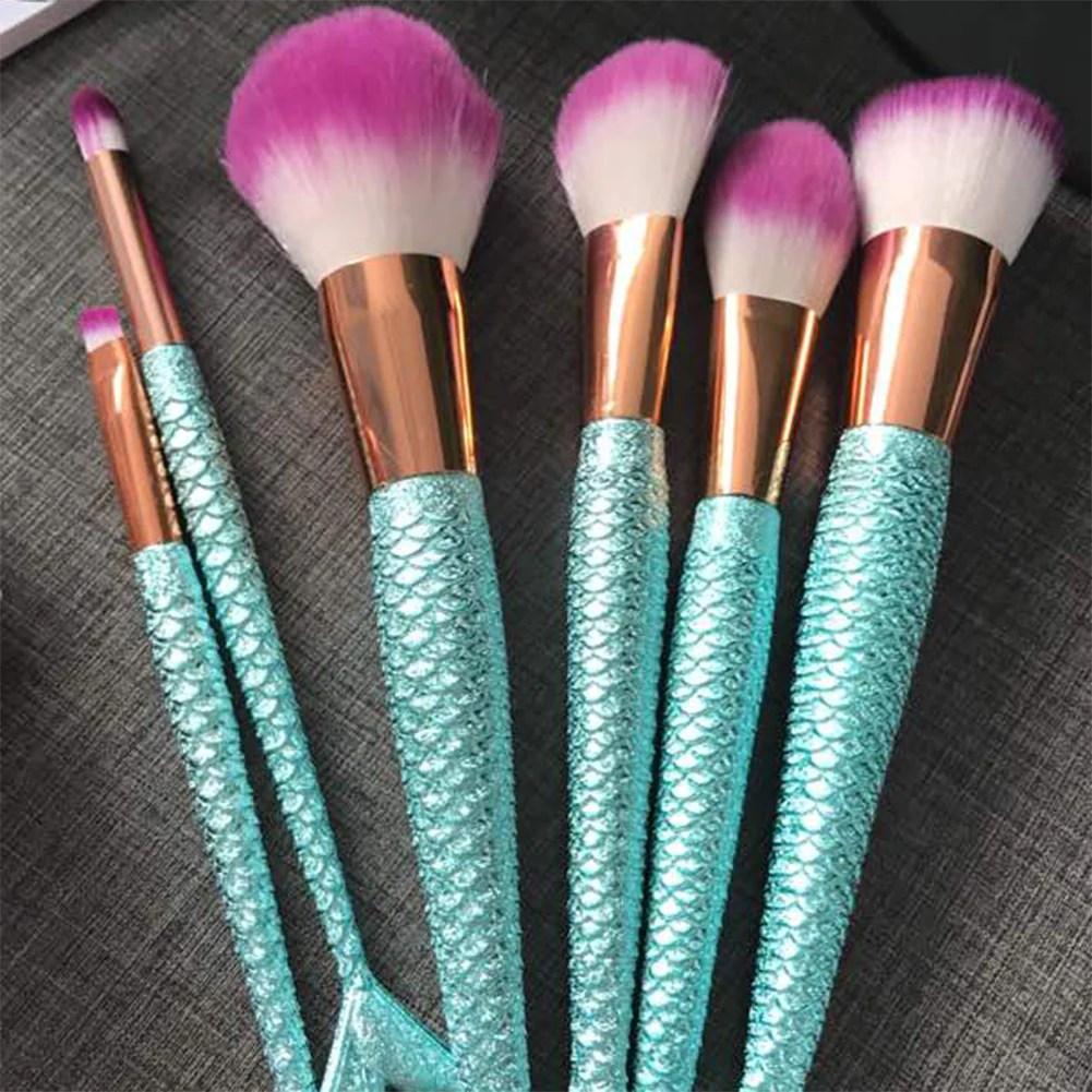 Mermaid Makeup Brush | Makewalls co