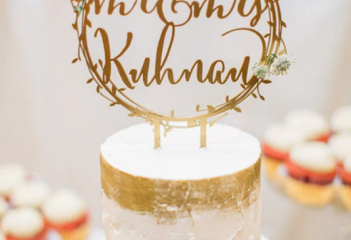 8 Custom Mr Mrs Wreath Cake Topper Wood Happily Ever Etched