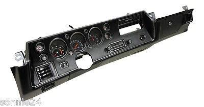 Monte Carlo Fuse Box 1972 Chevelle Ss Dash Kit Tach Gauges Radio Complete El