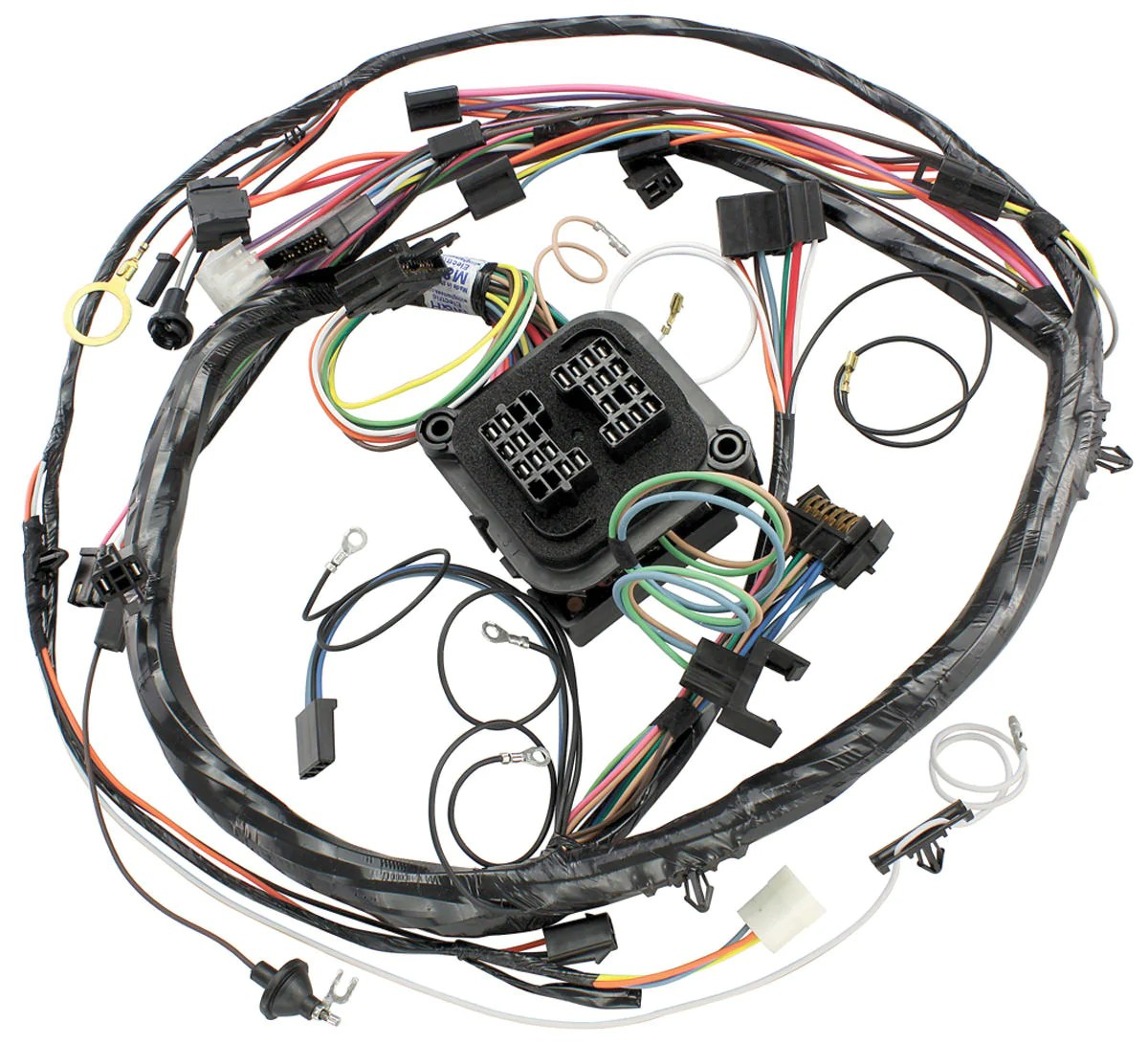 hight resolution of 1970 chevelle and el camino ss dash harness with factory gauges hi chevelle dash wiring harness main for cars with factory gauges 1970