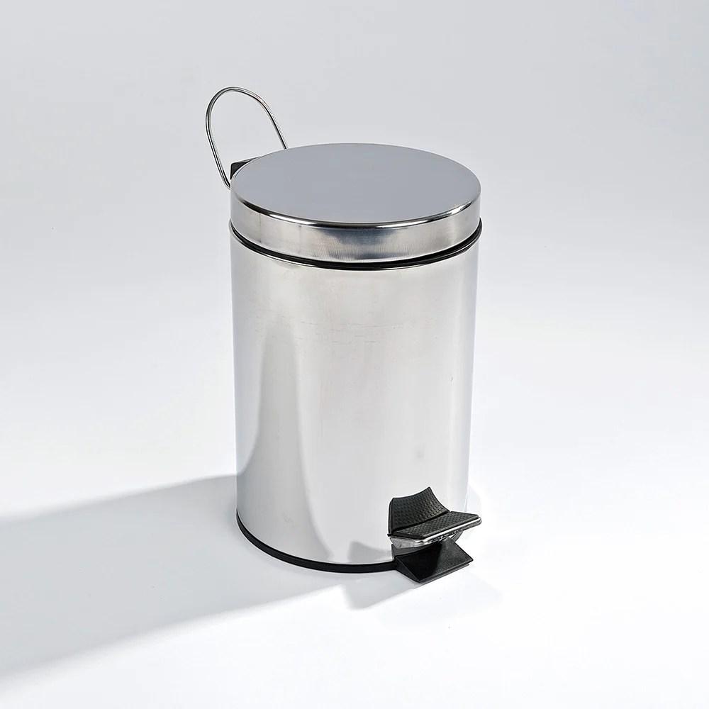 Student Packs Unikitout Stainless Steel Bathroom Bin