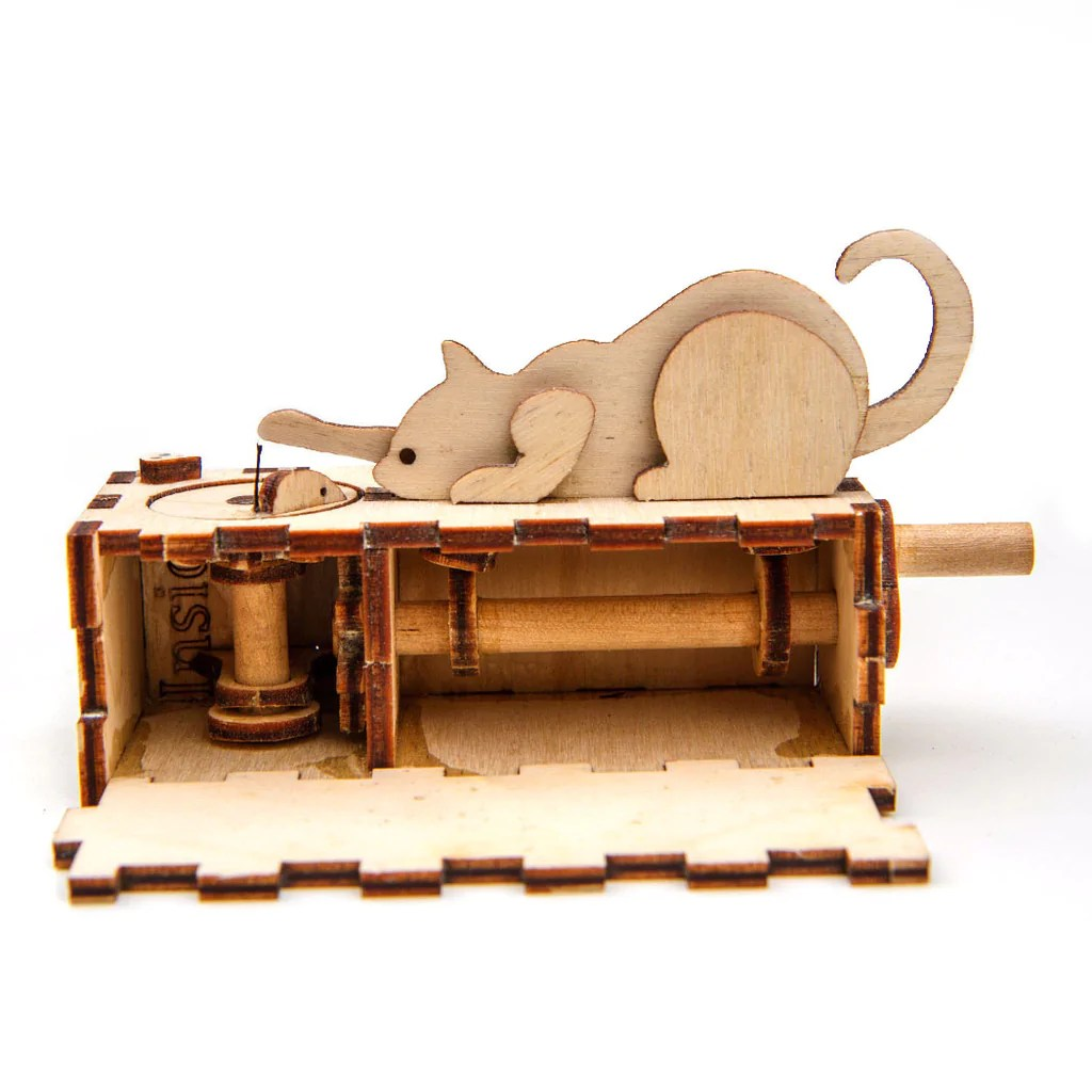 Cat And Mouse Automata Kit Linnell Design