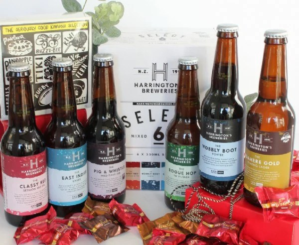 wine beer gifts tagged