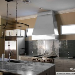 Kitchen Hood Design Sink With Cutting Board Custom Copper Stainless Range Hoods Havens Metal Steel Full Vent System From A