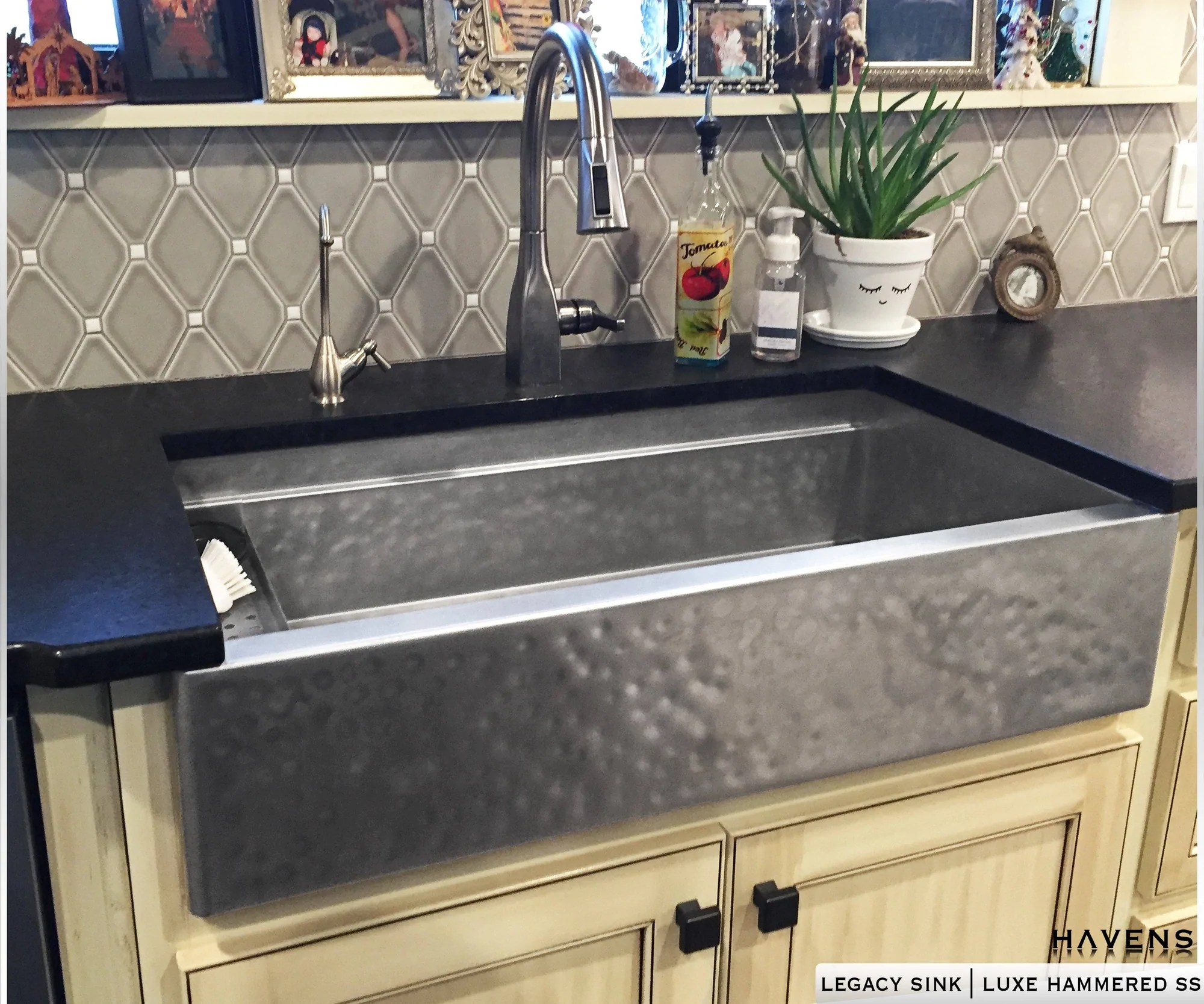 copper stainless farmhouse sinks