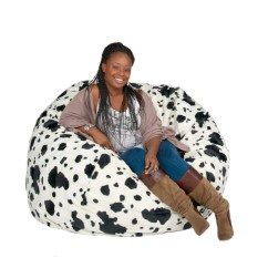 Cheetah Print Bean Bag Chair Laptop Gaming Chairs Large 4 Foot Cozy Sack Premium Foam Filled