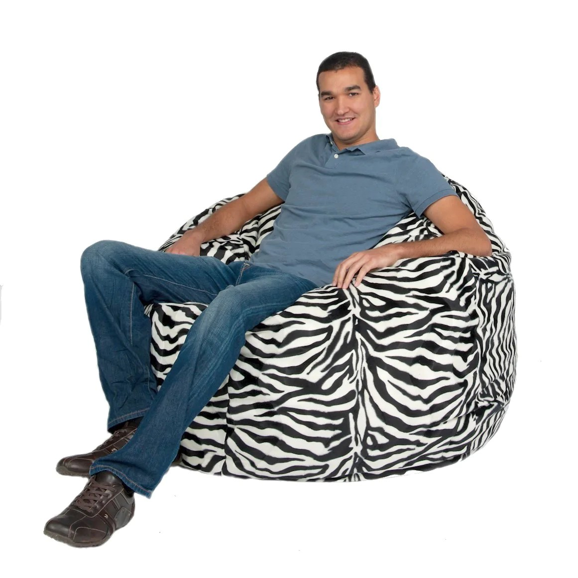 chair covers giant tiger the posture bean bag large 4 foot cozy sack premium foam filled