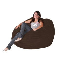 Chair Covers Giant Tiger Gray Bedroom Rail Bean Bag Large 4 Foot Cozy Sack Premium Foam Filled Liner Plus M – Factory