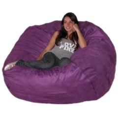 Big Joe Bean Bag Chair Pink Monarch Dining Room Chairs Large 5 Foot Cozy Sack Premium Foam Filled