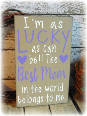 Best Mom Ever Country Rustic Home Decor Gifts For Her Mom