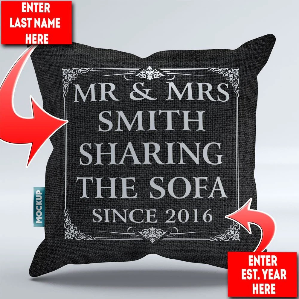 personalized mr mrs sharing