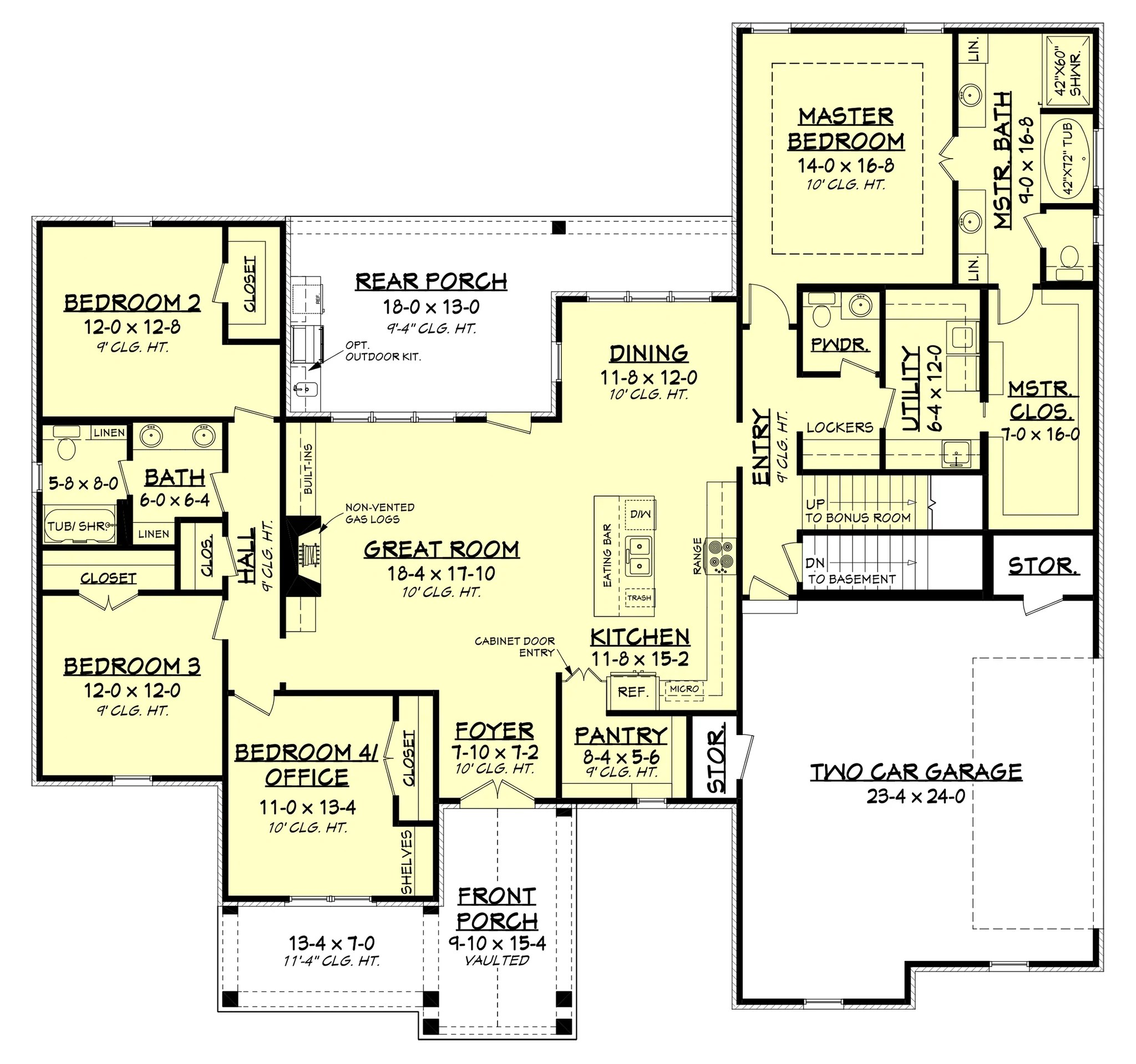 medium resolution of cypress court unfinished basement layout