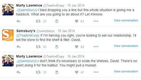 Sainsbury Twitter customer service   Shopify Retail blog