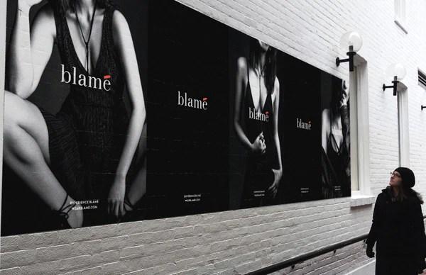 Blame pop-up shop | Shopify Retail blog