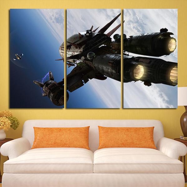 3 panel firefly serenity