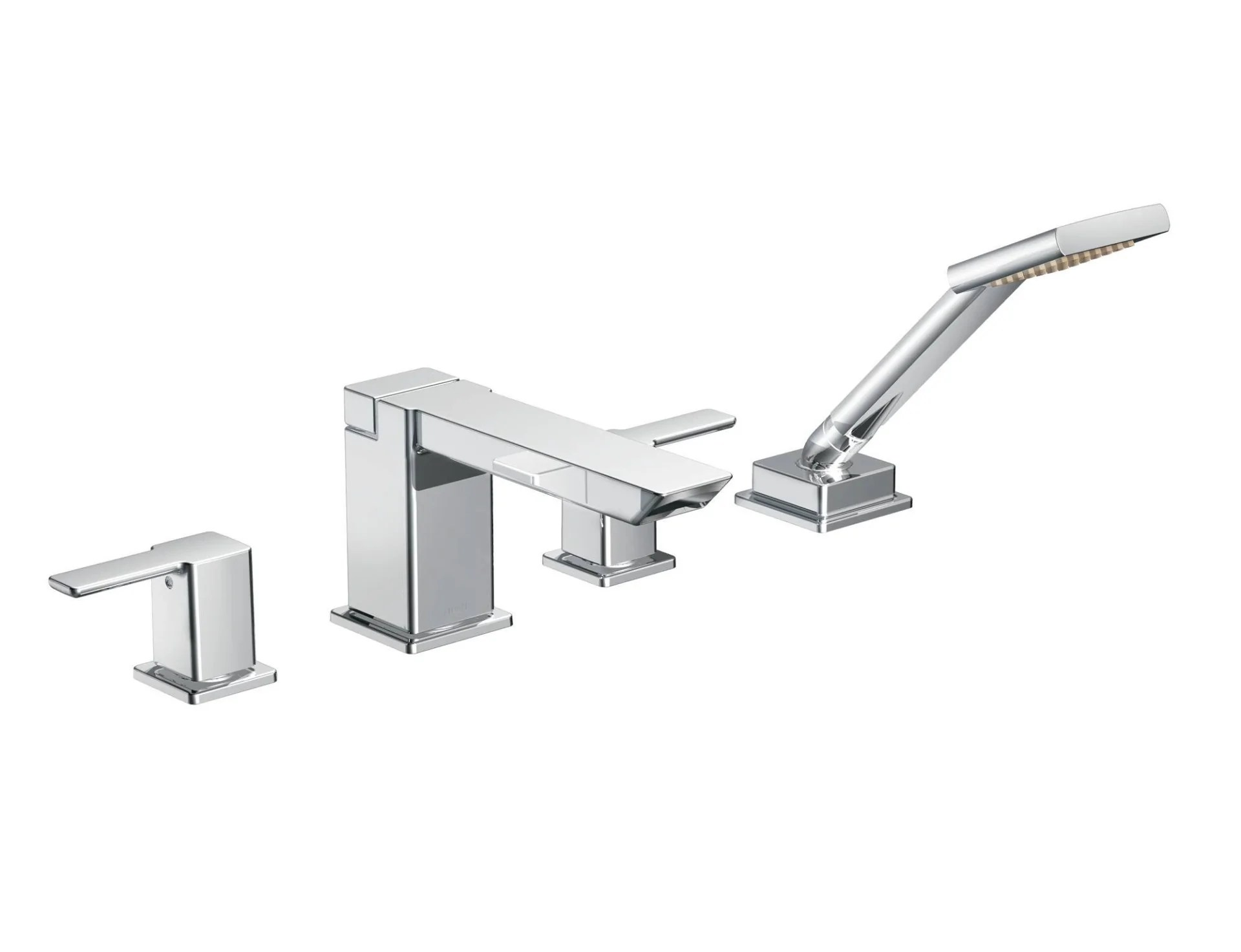90 Degree Moen Tub Faucet Handheld Shower Pace