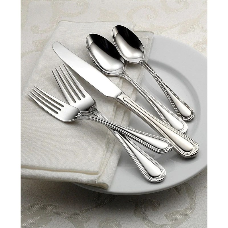 Oneida Countess 20 Piece Casual Flatware Set Service 4