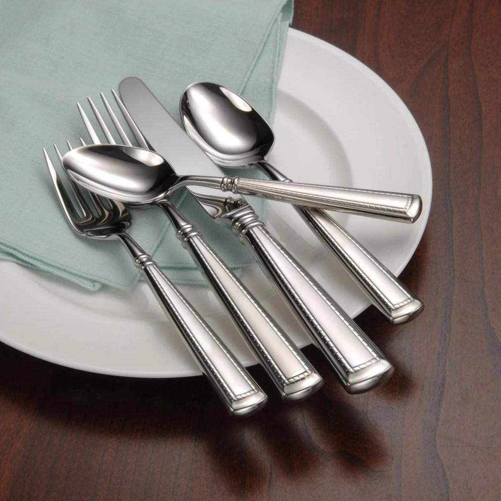 Oneida 18 10 Stainless Steel Flatware Sets