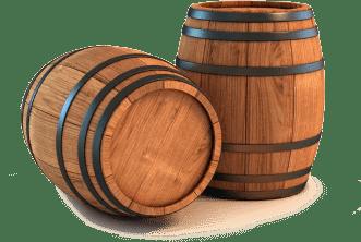wooden beer barrel chairs bertoia side chair vinwood - solid oak wood designer furniture