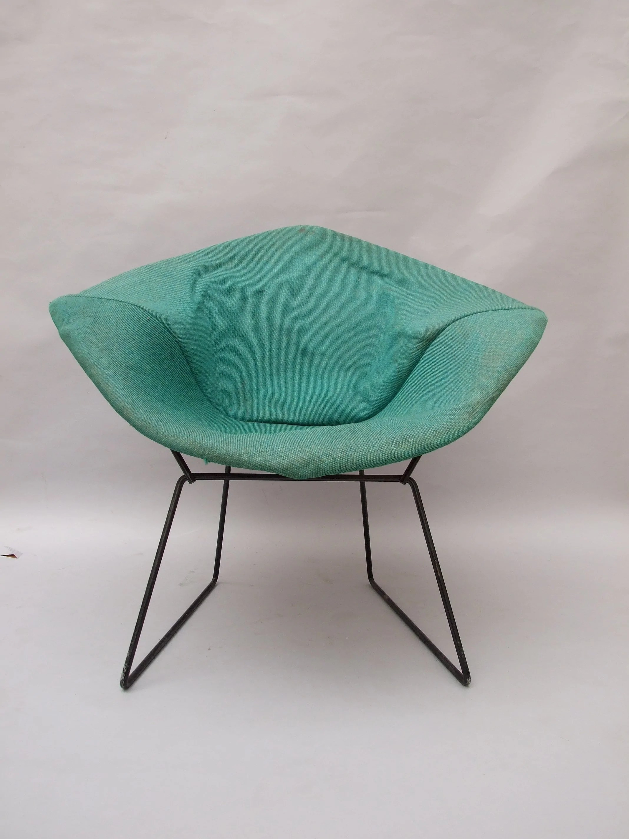 stretch morgan 1 piece sofa furniture cover room and board york with chaise harry bertoia 39diamond 39 chair the millinery works