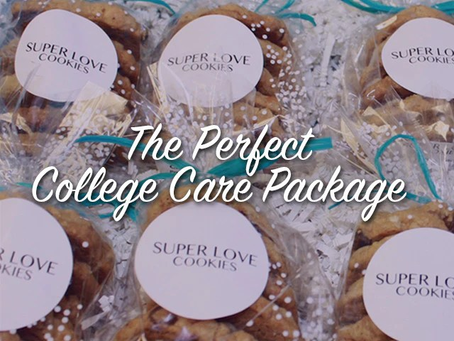 college care package cookies