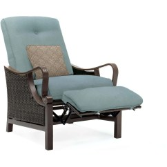 Recliner Patio Chair Flag Halyard Hammond Casitas Luxury Reclining With Pillow Accessory M K Grills