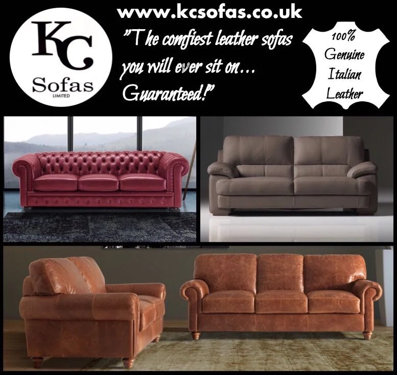 italy leather sofa uk small chaise end kc sofas genuine italian in normanton