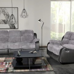 Electric Sofa Set Leather Sectional Bed Vancouver Valetta 3 Seater 2 Reclining Fabric Kc Sofas