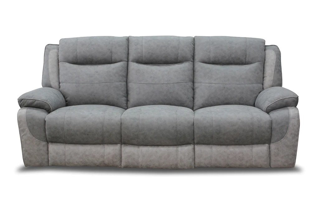 leona 3 seater recliner sofa french style sofas uk manual reclining kc