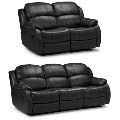 Electric Sofa Set Fabrics In Nigeria Valetta 3 Seater 2 Reclining Bonded Leather Kc Sofas