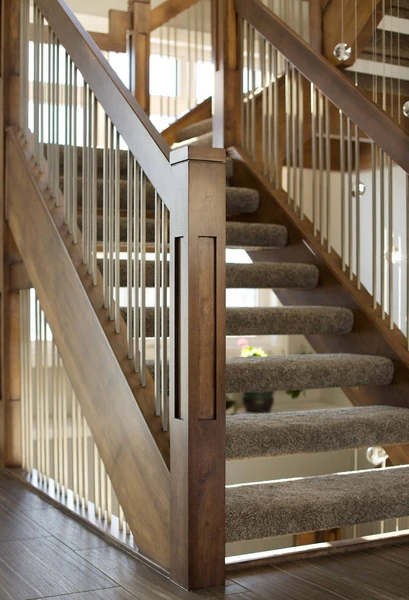 Guide 5 Keys To Unlock Craftsman Design For Your Stairs   Craftsman Style Stair Railing