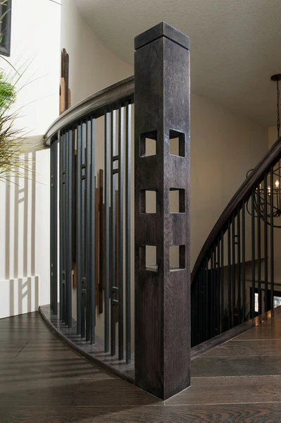 Guide 5 Keys To Unlock Craftsman Design For Your Stairs – Custom   Square Newel Post Designs   Iron   3 Inch   Victorian Oak Newel   Modern Square   Stair Newel