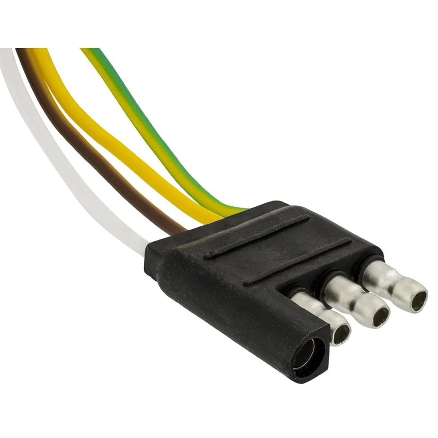 medium resolution of auveco 10783 4 way harness plug receptacle male 18 gauge