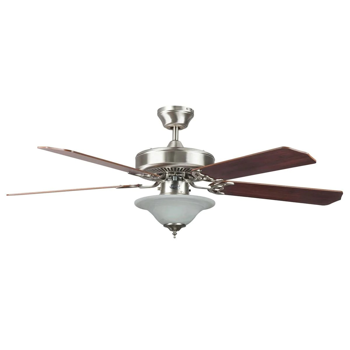 hight resolution of concord fans 52 heritage square stainless steel ceiling fan with ligh faucetlist com
