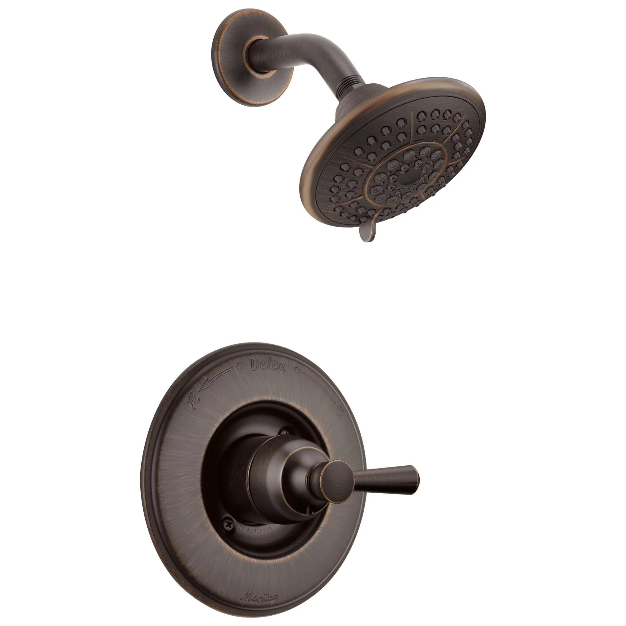 complete delta shower faucets valve