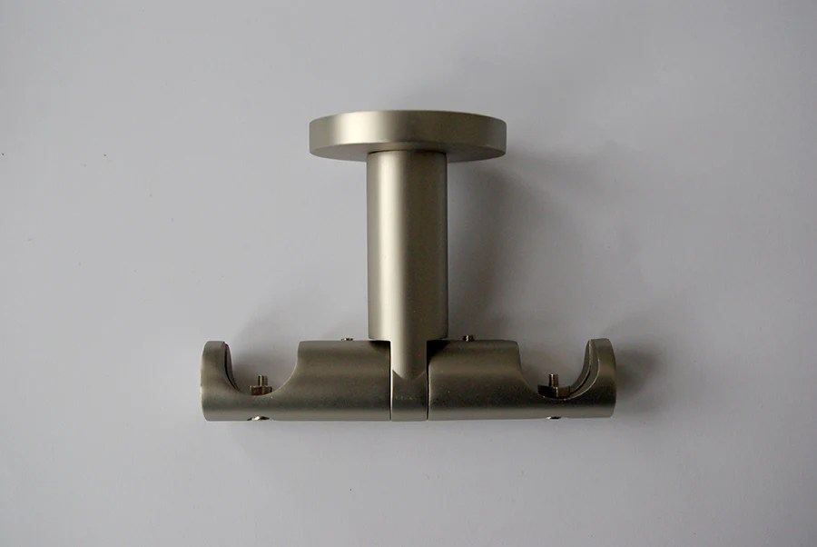 https www gntsdecor co uk products pole bracket modern ceiling mount double bronze chrome stainless steel black o19mm pack of 2