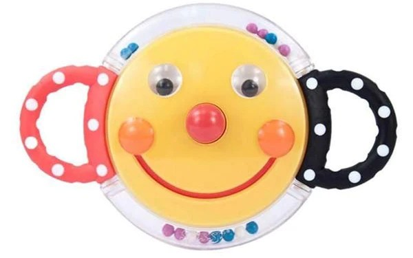 Sassy Baby Smiley Face Rattle